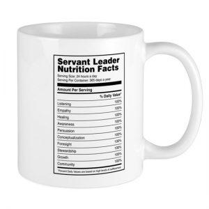 servant leadership mug